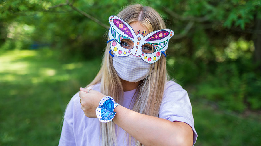 Animal Bracelets and Face Masks