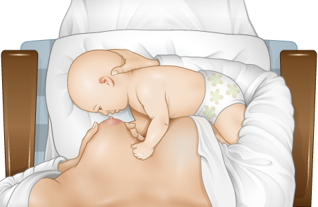 How to position your baby