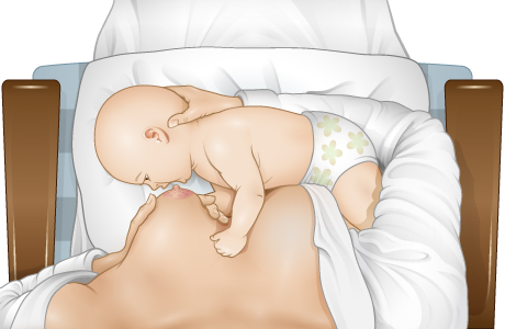 How to get the baby to latch on