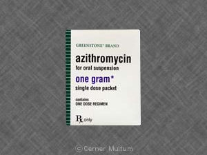 Over counter drugs contain azithromycin z-pack