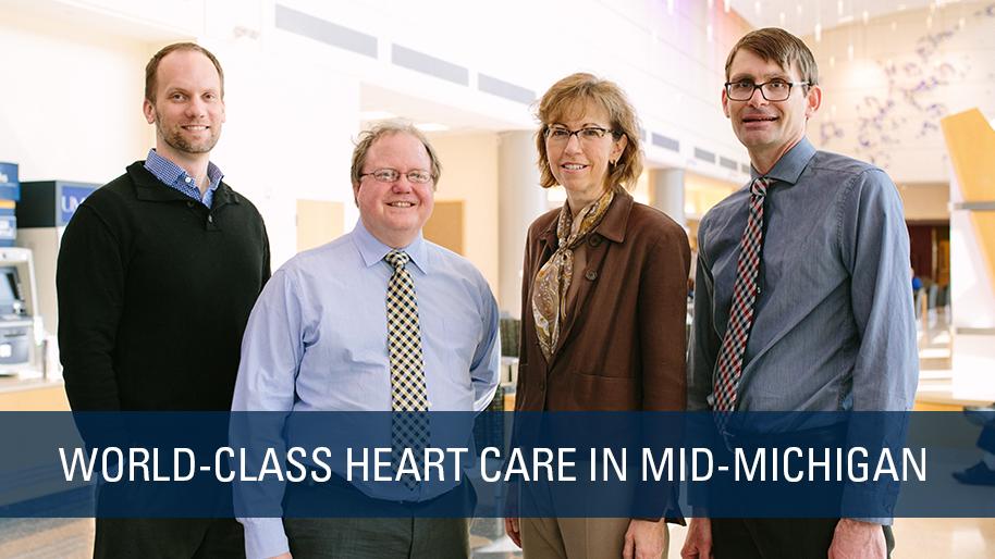 world class heart care in Mid-Michigan