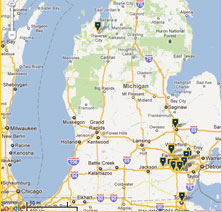 Maps Directions CS Mott Childrens Hospital Michigan Medicine - Michigan lake maps