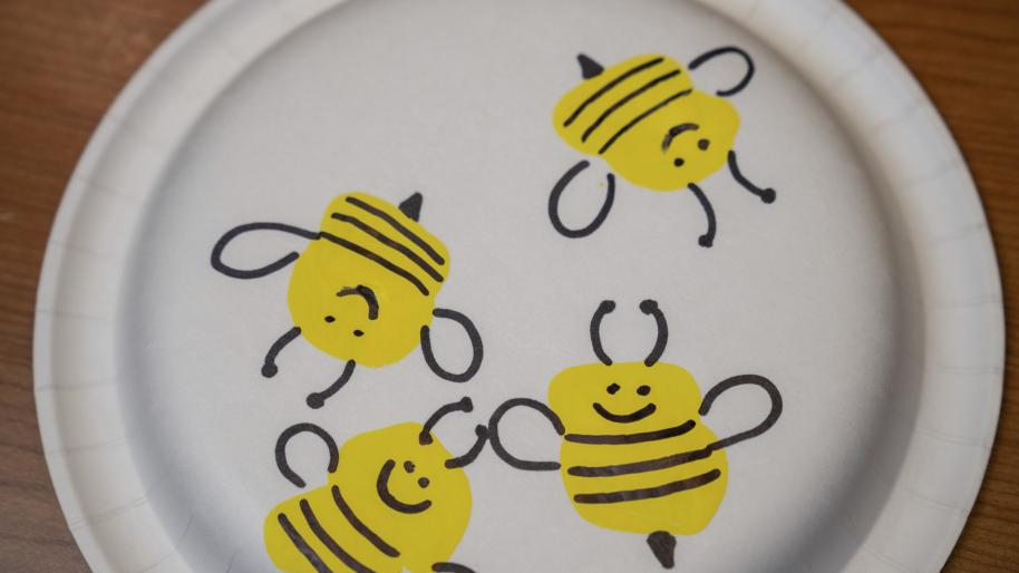 Camp Little Victors Stamped Bumble Bee image