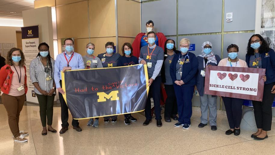 Sickle Cell Disease Clinical team photo 2021