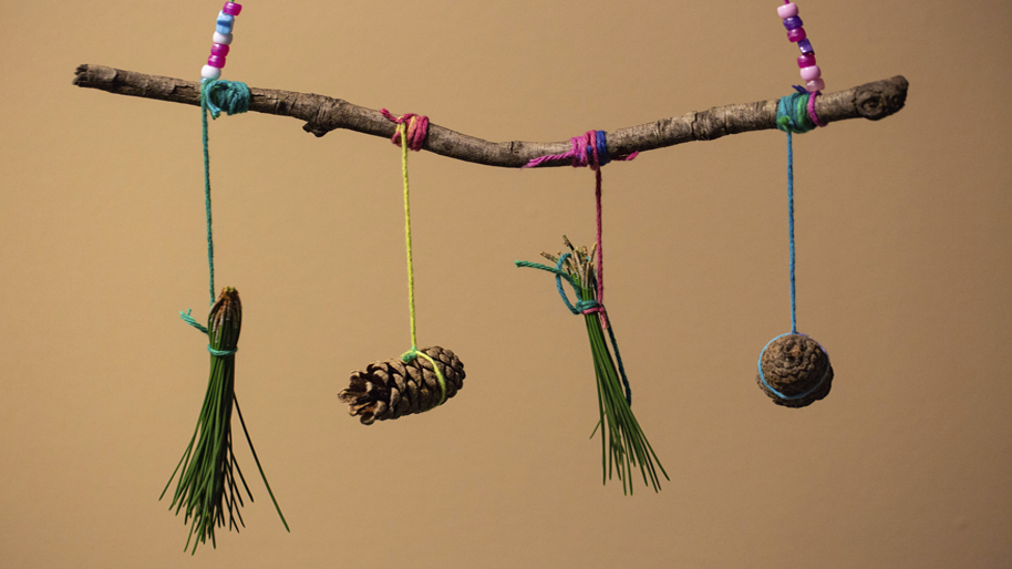 Nature wind chimes