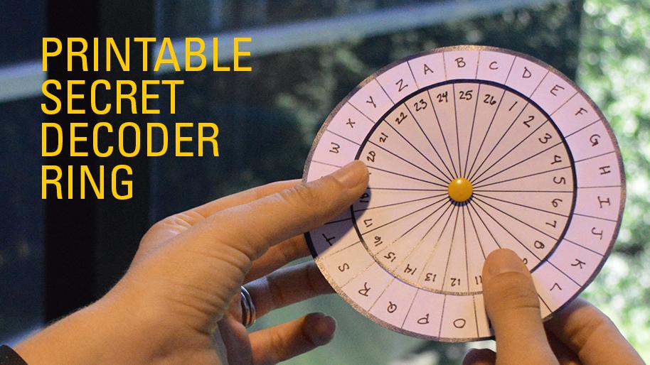 photo regarding Printable Decoder Wheel called Mystery Representative Mates CS Mott Childrens Healthcare facility