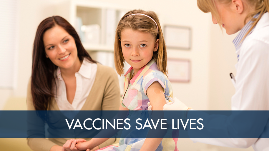 Vaccines can save lives