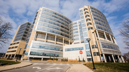 C.S. Mott Children's Hospital exterior view