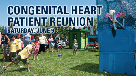 2018 Congenital Heart Patient Reunion, Saturday, June 9