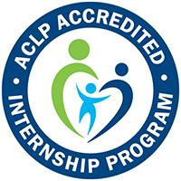 ACLP accredited logo.