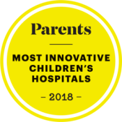 Parents magazine best hospitals badge