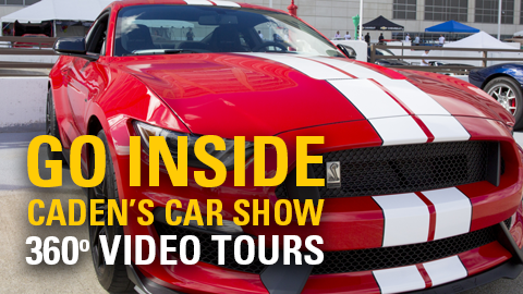 Go Inside: Caden's Car Show 360 Video Tours