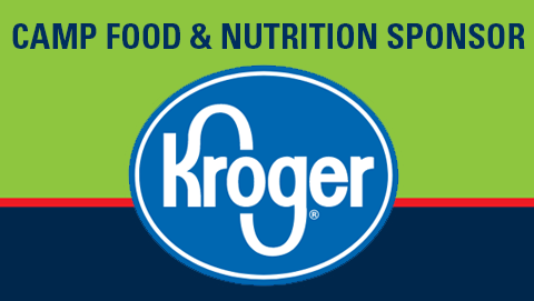 Kroger Logo - Camp Little Victor Food & Nutrition Sponsor
