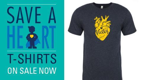 Save a Heart T shirt
