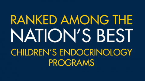 promo-Ranked among the nation's best children's endocrinology programs