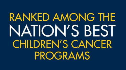 Children's cancer program ranked among the nations best