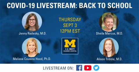 Experts to answer back-to-school questions in live Q&A