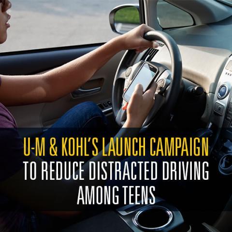 Kohl's Drive Smart campaign