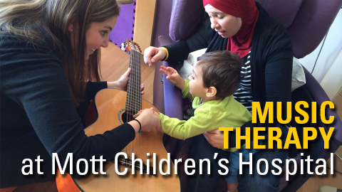 Music Therapy at Mott Children's Hospital