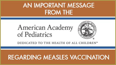 Vaccinate your children!