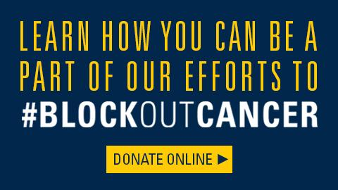 Join the fight to Block Out Cancer
