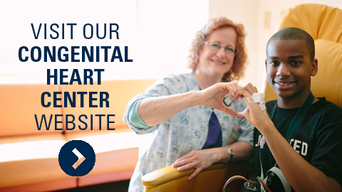 Visit our congenital heart center websiter