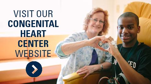 Visit our congenital heart center websiter