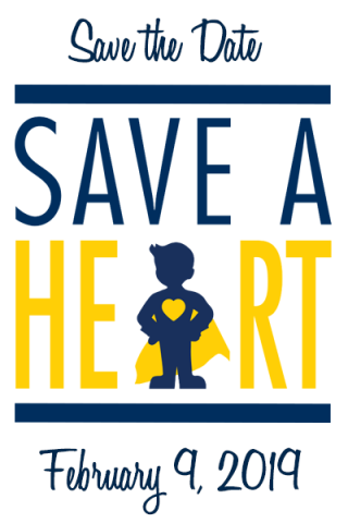 Save the Date for Save a Heart 2019