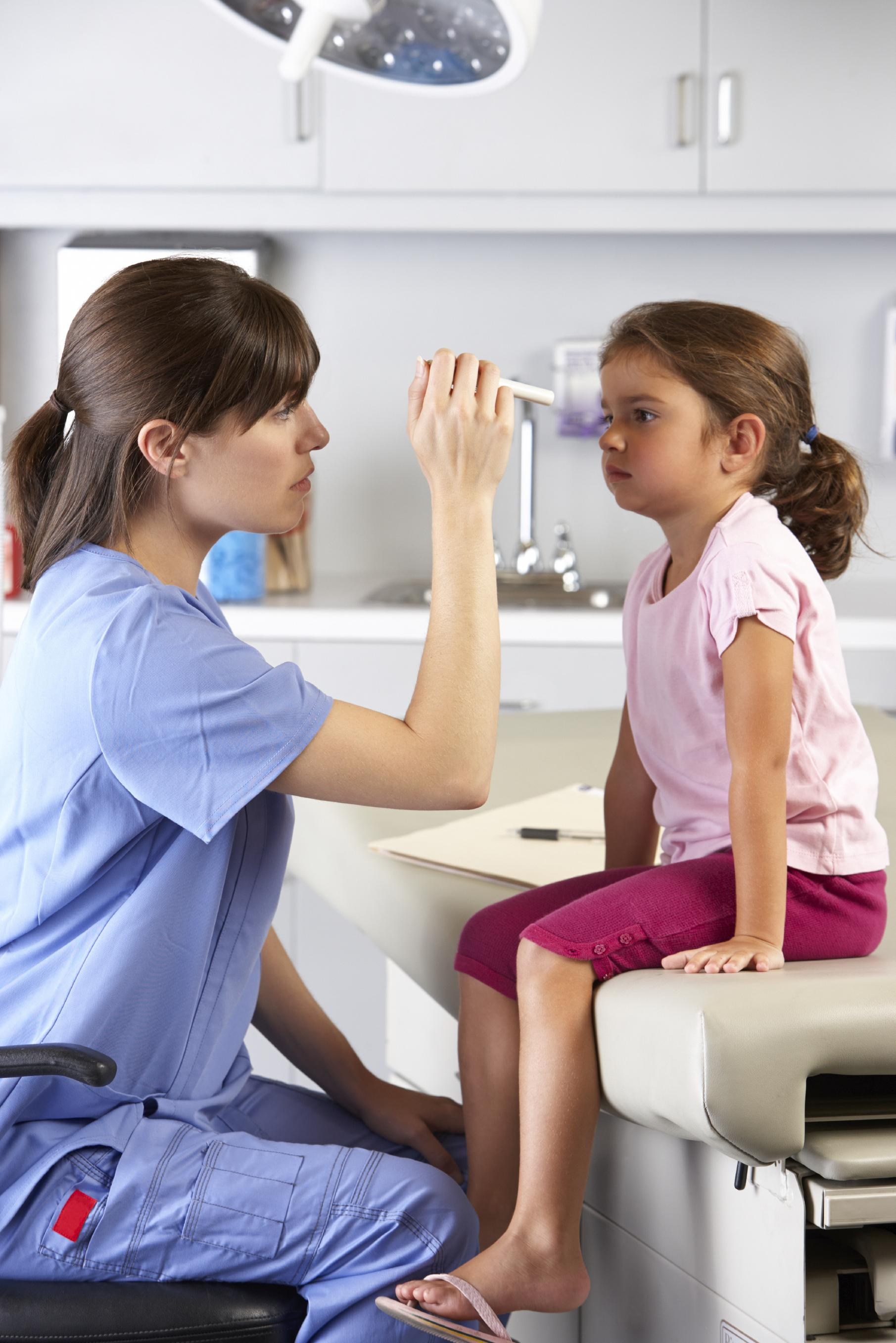 Child eye appointment
