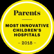 Parents magazine best hospitals badge