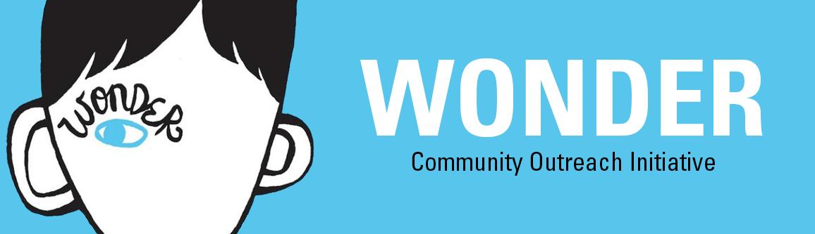 Wonder Community Outreach banner